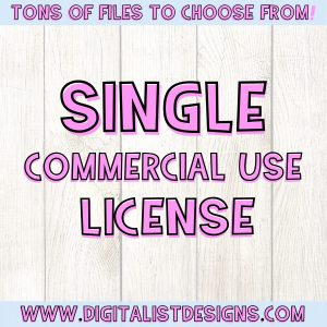 Single Commercial Use License