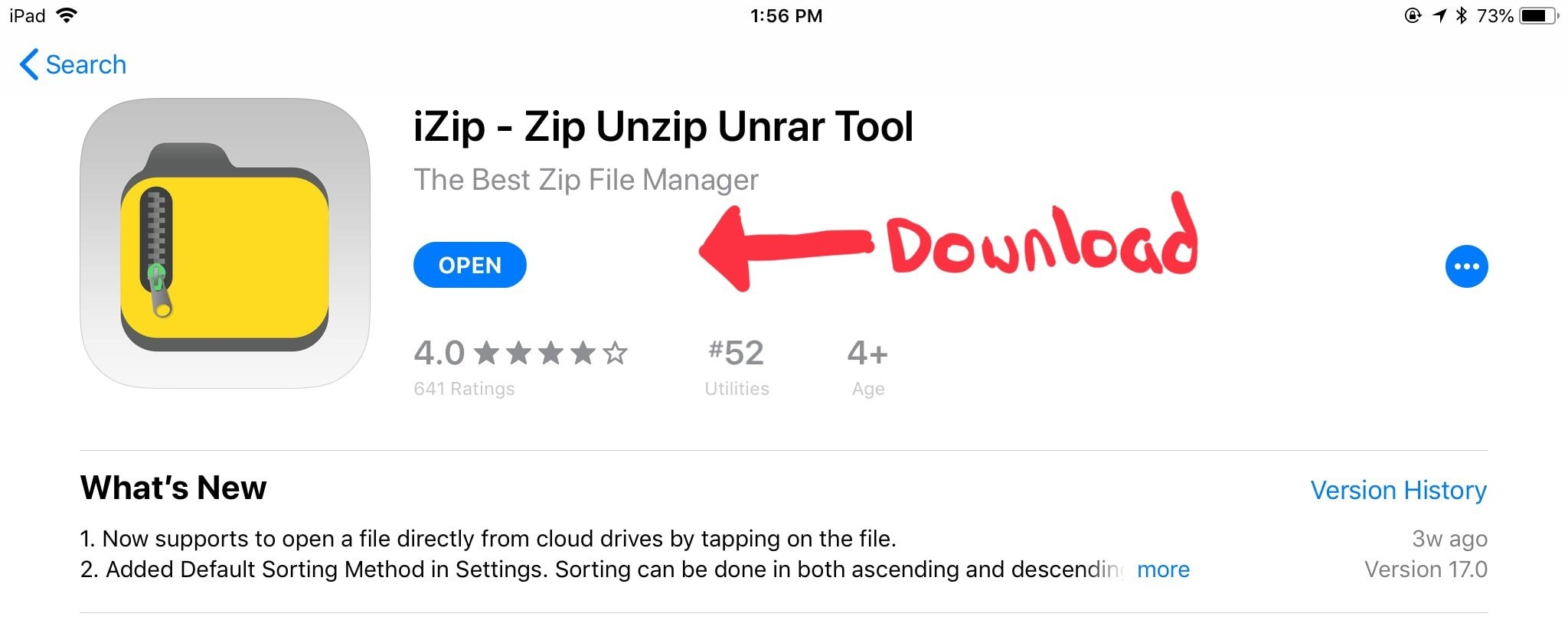 How to upload a zip file to cricut on your ipad Download iZip for Ipad