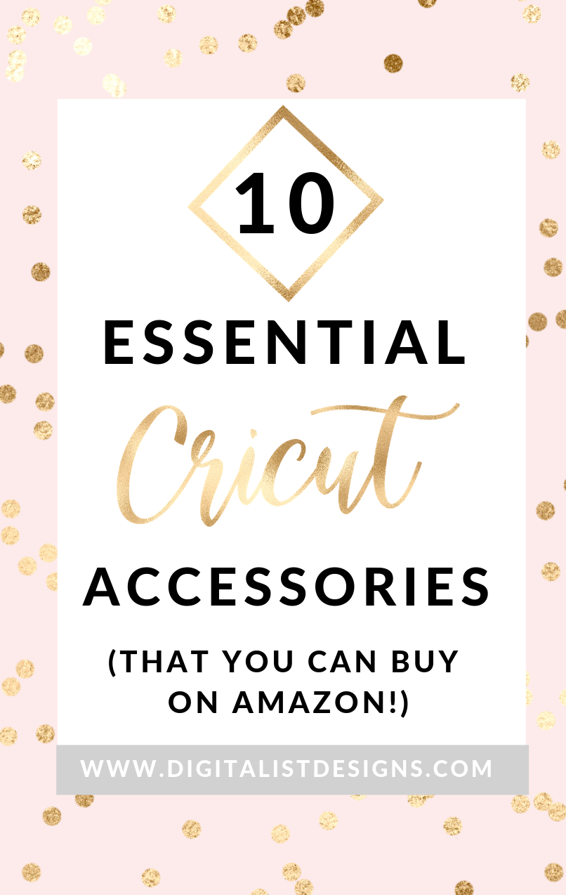 If you're a crafter, you know that your Cricut machine is your best friend. But did you know that you might be missing out by only using your basic tools? Cricut has so many amazing products that are sure to take your hobby or craft business to the next level. I've made a list of 10 of the most essential tools and accessories that Cricut has to offer.