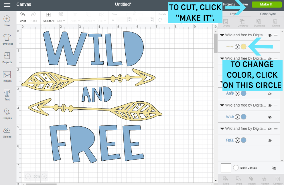 How to Use an SVG File in Cricut Design Space