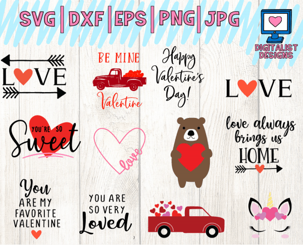 Valentine's SVG Bundle Page 3