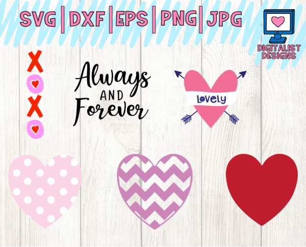 Valentine's SVG Bundle Page 4