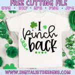 Free Pinch Proof SVG file! This would be amazing for a variety of DIY St. Patrick's Day craft projects such as: HTV T-shirts, mugs, home decor, scrapbooking, stickers, planners, and more! Cricut Design Space and Silhouette Studio compatible. Free vector clip art printable.