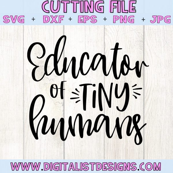 Educator of Tiny Humans SVG