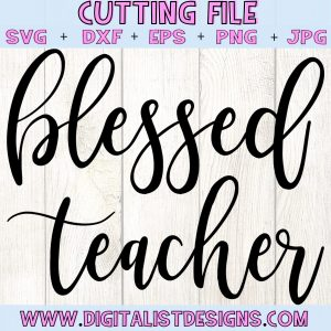 Blessed Teacher SVG