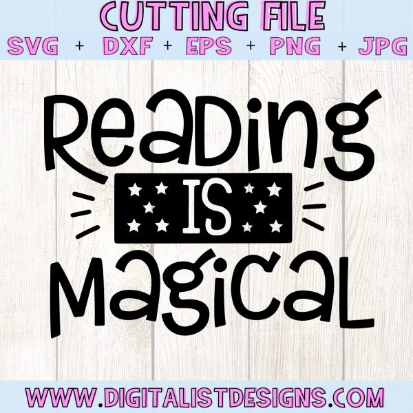 Reading is Magical SVG