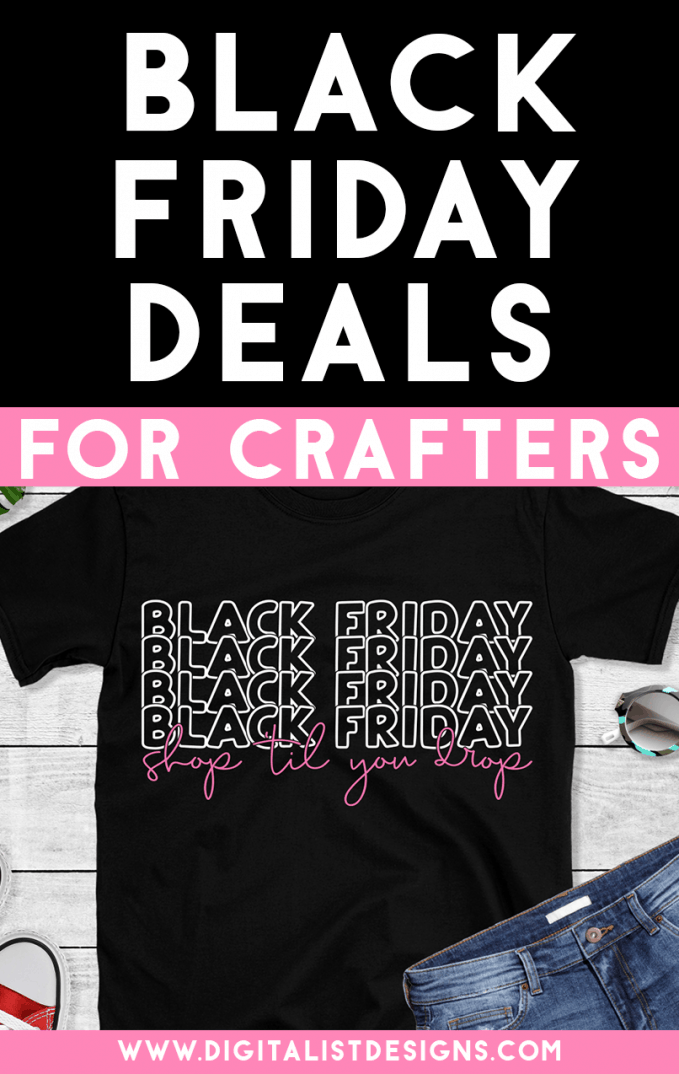 Check out the hottest 2019 Black Friday Deals on SVG files, fonts, Cricut, vinyl, and more!